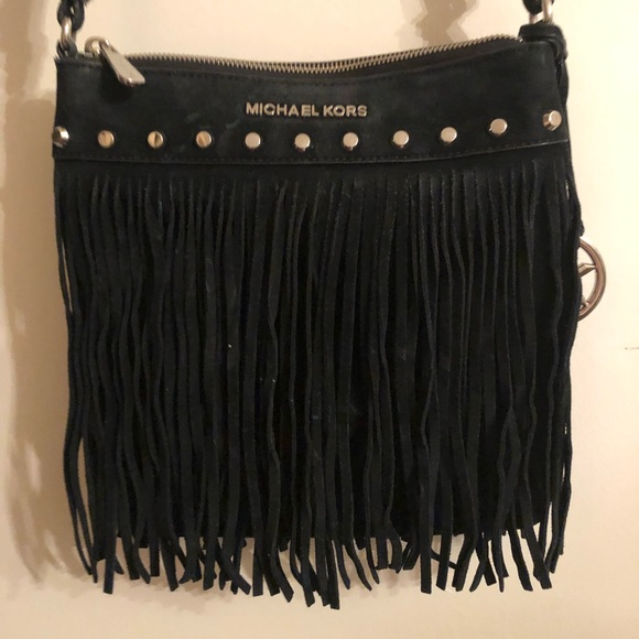 Michael Kors Handbags - Michael Kors Fringe Crossbody